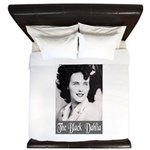 The Black Dahlia King Duvet