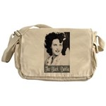 The Black Dahlia Messenger Bag