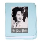 The Black Dahlia baby blanket
