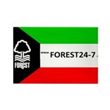 Kuwaiti Forest Rectangle Magnet