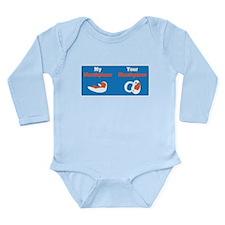 Mouthpiece Long Sleeve Infant Bodysuit