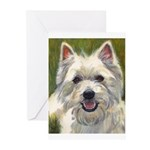 Happy Westie Greeting Cards (Pk of 10)