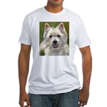 Happy Westie Fitted T-Shirt