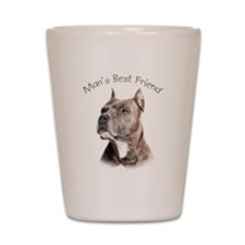 Man's Best Friend Shot Glass