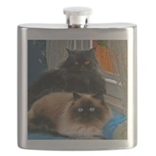 BLACK PERSIAN AND HIMALAYAN Flask