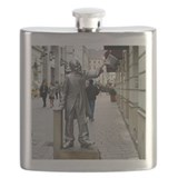 Man with the top hat Flask