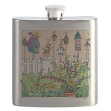 Cynthia Bainton Bird House Garden Flask