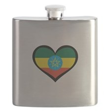 Ethiopia Love Flask