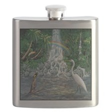 Rainforest Waterfall Flask