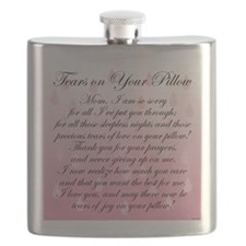 TEARS ON YOUR PILLOW Flask