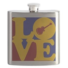 Guitar Love Flask
