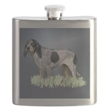 bluetick coonhound Flask