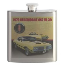 1970 Olds 442 Flask