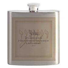 Yeshua Acts 4:12 Flask