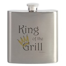 King of the Grill (pepper crown) Flask