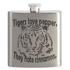 Tigers Love Pepper Flask