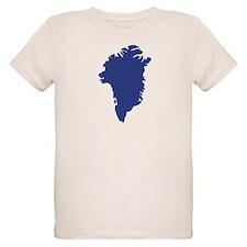 Greenland map T-Shirt