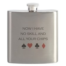 Now i have no skill and all your chips / Poker Val