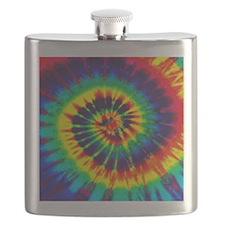 Bright Tie-Dye Flask