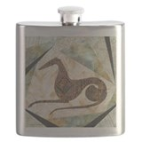 Tribal Greyhound Flask