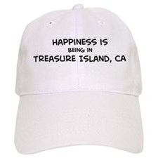 Treasure Island - Happiness Baseball Cap