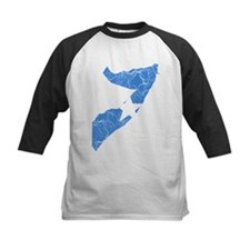 Somalia Flag And Map Tee