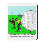 Extreme Golf Mousepad