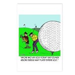 Extreme Golf Postcards (Package of 8)