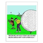 Extreme Golf Small Poster