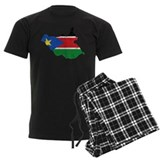 South Sudan Flag And Map Pajamas