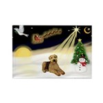 Night Flight/Airedale #5 Rectangle Magnet (10 pack
