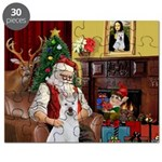 Santa & Akita Puzzle