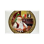 Santa's Am Eskimo #5 Rectangle Magnet