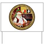 Santa's Am Eskimo #5 Yard Sign