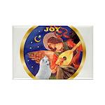Angel3/Am Eskimo #3 Rectangle Magnet (10 pack)