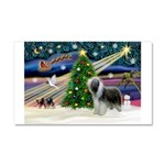 Xmas Magic & Beardie Car Magnet 20 x 12
