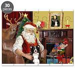 Santa's Border Collie Puzzle