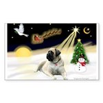 Night Flight/Mastiff 4 Sticker (Rectangle 10 pk)