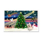 XmasMagic/ Cairn T Rectangle Car Magnet