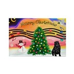 XmasMusic2/Shar Pei Rectangle Magnet