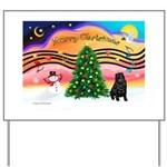 XmasMusic2/Shar Pei Yard Sign