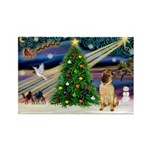 XmasMagic/ Shar Pei Rectangle Magnet (10 pack)