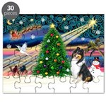 Xmas Magic & Collie Puzzle