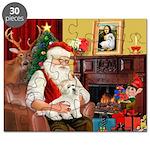 Santa's Coton Puzzle