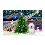 XmasMagic/ Coton Sticker (Rectangle)