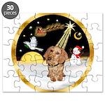 Night Flight/Dachshund #11 Puzzle