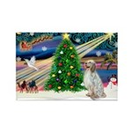 XmasMagic/ English Setter Rectangle Magnet