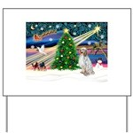 XmasMagic/ English Setter Yard Sign