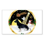 NightFlight-German Shep3 Sticker (Rectangle 10 pk)