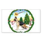 Take Off1/German Shepherd Sticker (Rectangle 10 pk